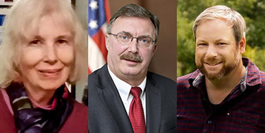 Barbara Kidney, Brian Miller, Chad McEvoy