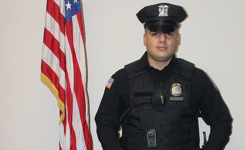 """The new image of the City of Newburgh Police includes new uniforms, unveiled last week. Amthor said """"the new uniforms are both practical, and professional, and we are sure will be positively received overall."""" They will be in service by mid-November."""