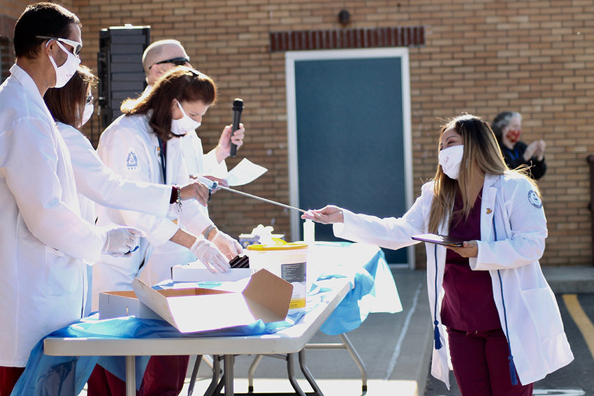 Surgical Technology graduate Jessica Hernandez, of Newburgh.