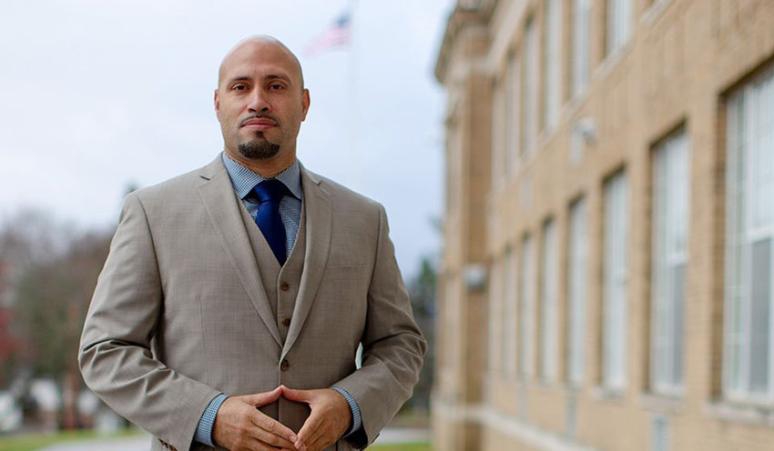 Dr. Roberto Padilla, Superintendent of the Newburgh Enlarged City School District in Newburgh, New York, on Tuesday, November 27, 2018.