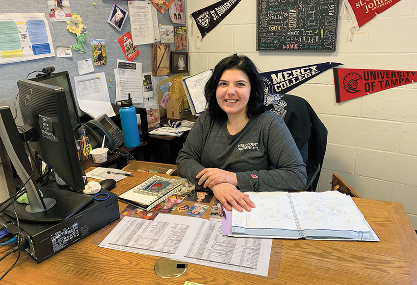 When not behind the desk in the Wallkill Guidance Office, Terralavoro has plenty to keep her hands busy.