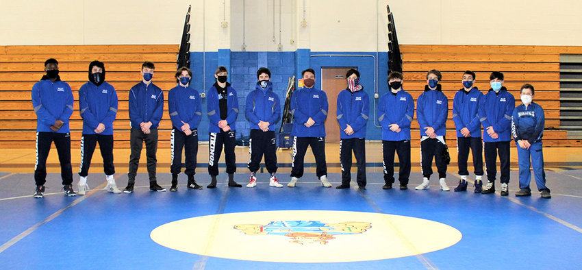The Valley Central wrestling team finished seventh in the Section 9 Duals tournament on Saturday with a 48-15 win over Pine Bush.
