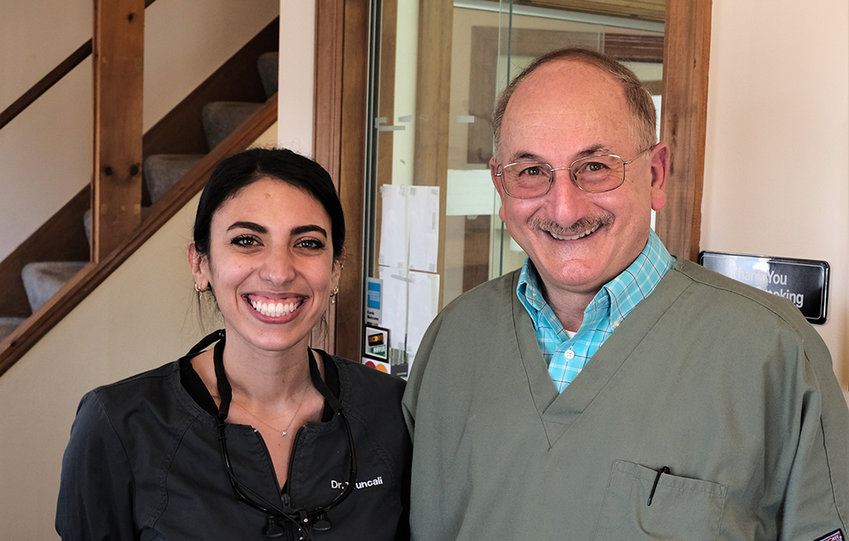 Dr. Anthony Pascale will be retiring in May and is turning over his practice to Dr. Taylor Truncali.