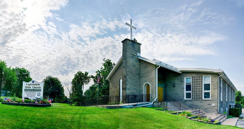 The Leptondale Bible Church is located at 1771 Route 300 in the Town of Newburgh.