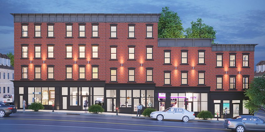 Seraphim Equities, a family-owned real estate investment company has plans for a new mixed-use development at 150-166 Broadway.