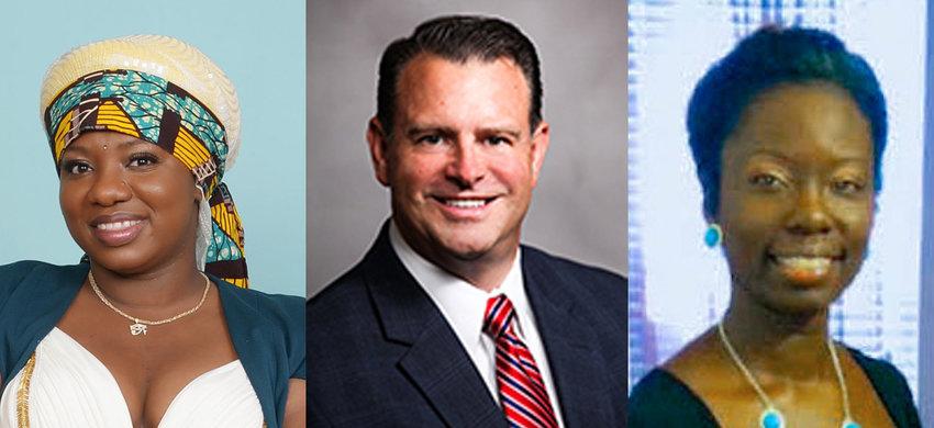 Marie Brevil, Ross Tompkins, Tasha T. Butler