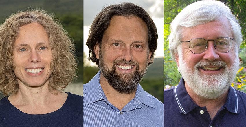 Carol Richman, Todd Baker and Warren Wiengard