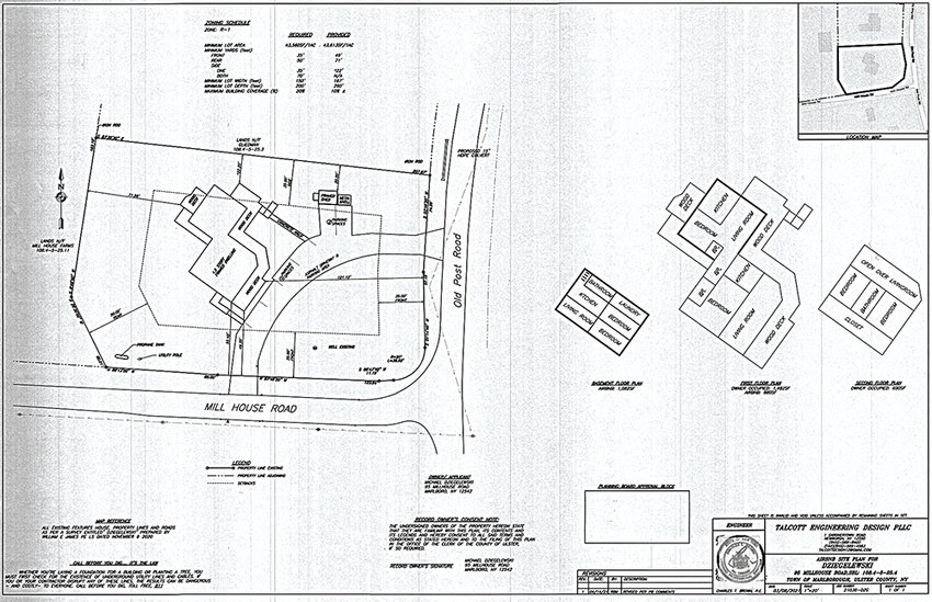 Site plan for Airbnb.