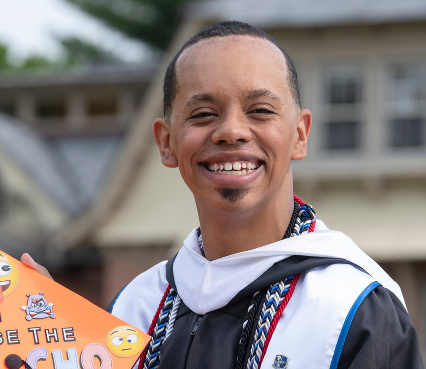 Nick Tucker, Mount Saint Mary College's 58th Annual Commencement Ceremonies on May 22, 2021.