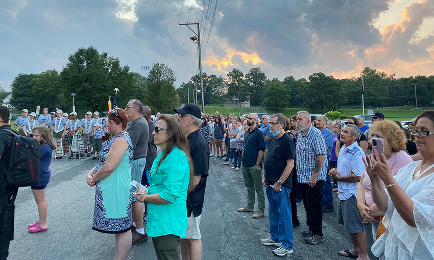 Members of the greater Montgomery community gathered to remember Danny Meyer on Sunday.