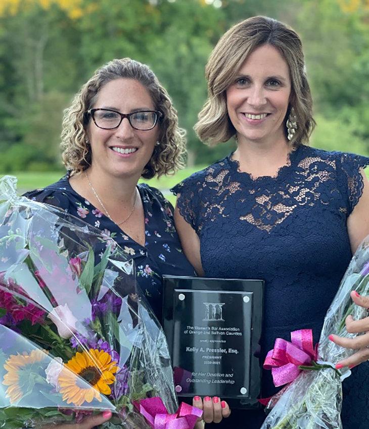 Michelle Babcock (l.) and Kelly Pressler of Jacobowitz & Gubits.