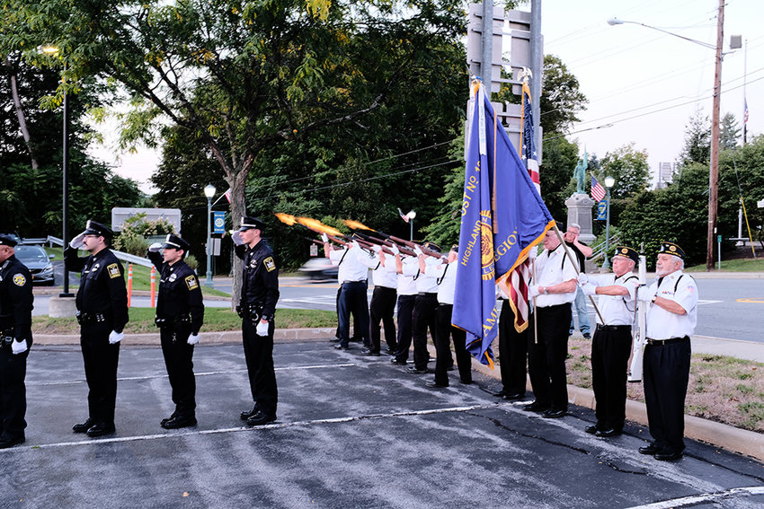 A 21 Gun Salute was done by the American Legion Post 193.