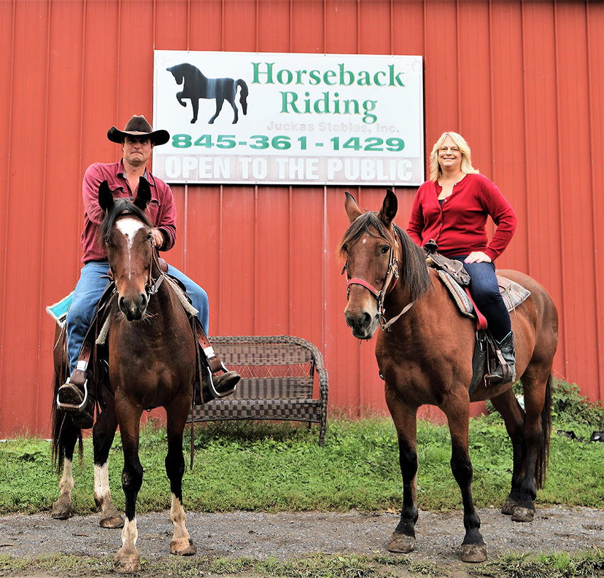 Brian Stevens and Lori Maney-Lentini have taken the reins at Juckas Stables in Bullville.