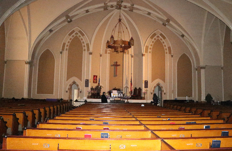 The sanctuary to the church will be the home of community events, weddings, art exhibits and flea markets.