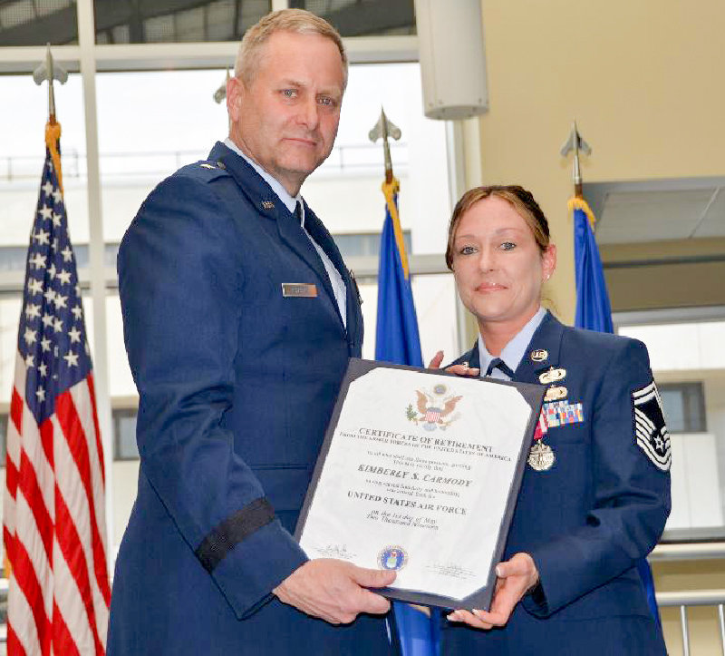 Pine Bush native Kimberly Carmody retires from Air Force