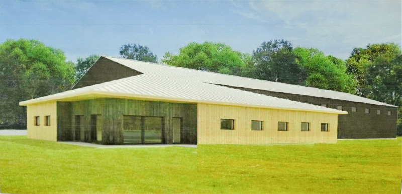A rendering of Cathy Hobbs project.