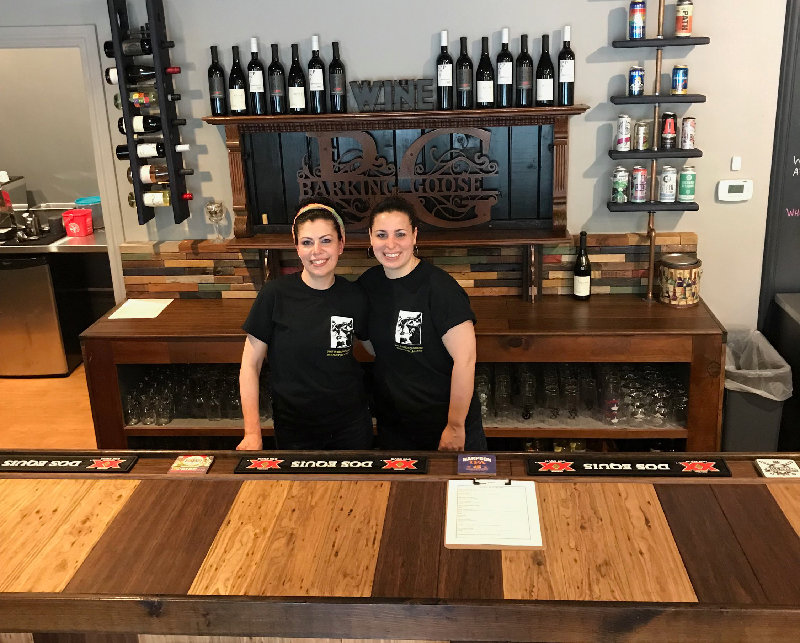 Jennifer Flynn (l.)  and Lani Ricozzi operate a bookstore, bar and cafe all rolled into one.