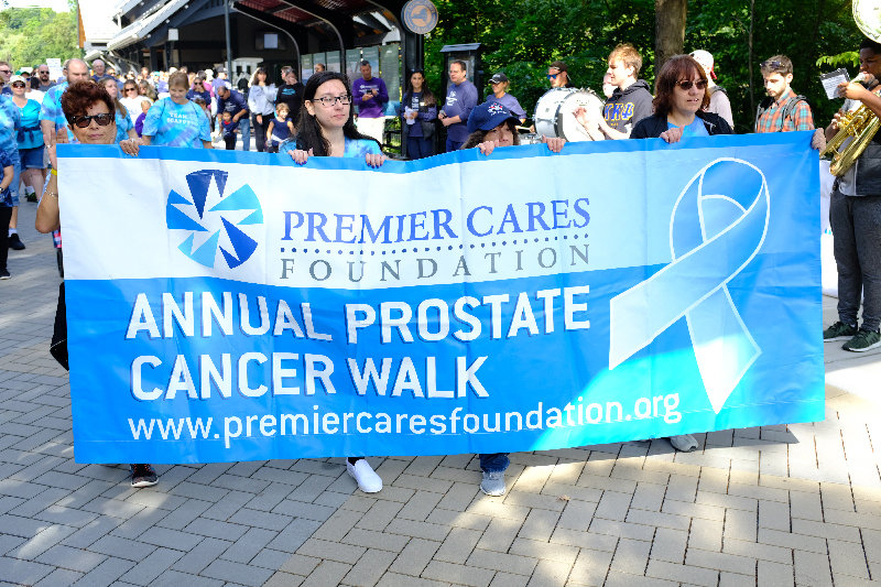 The 10th annual Premier Cares Foundation Prostate Cancer Walk kicked off last Sunday at the Ulster Welcome Center at the Walkway Over the Hudson.
