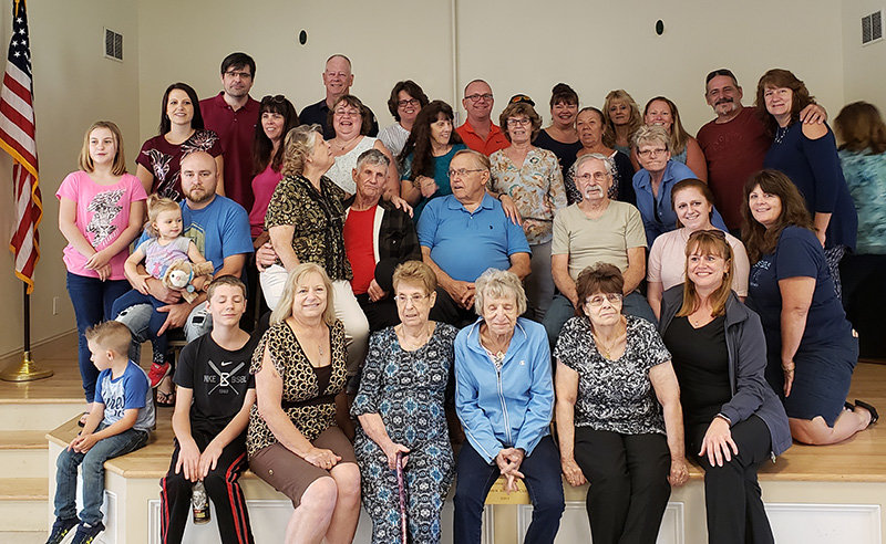 On Sunday, September 9th, the day after Montgomery Day, the Ruger family held a family reunion, at the Maybrook Senior Center.