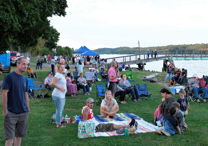 The grounds of the Milton Landing Park were filled the festival.