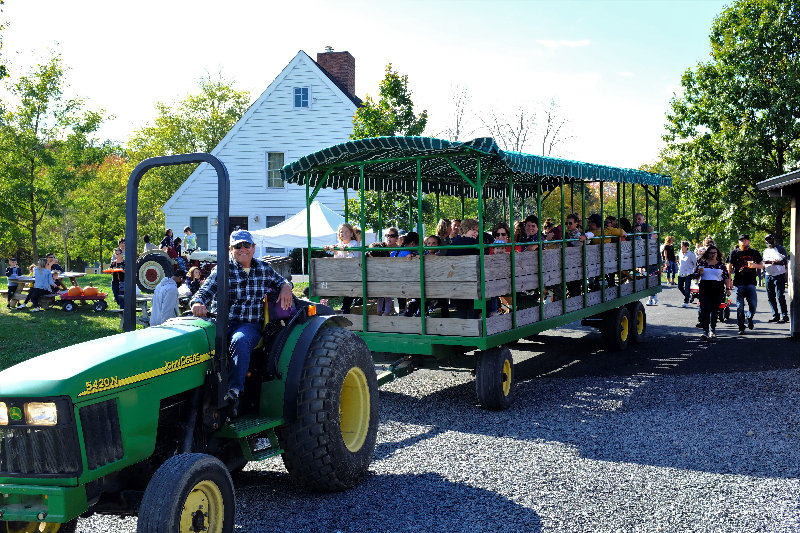 'Chickie' Chiocchi provides wagon rides that are always a hit with the entire family.