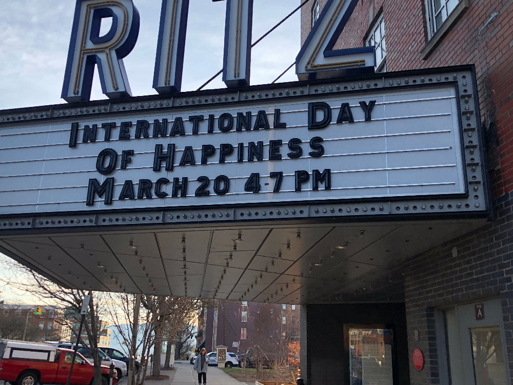 Many events, including the Greater Newburgh Symphony and the Ritz Theatre's International Day of Happiness, were cancelled.