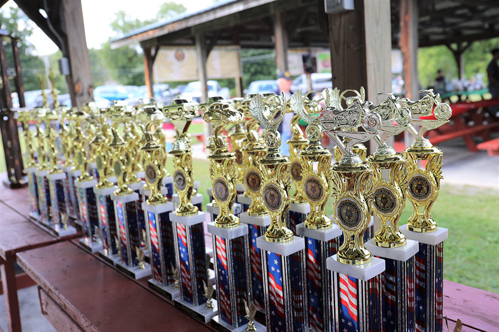 American Legion Car Show Photo Trophies