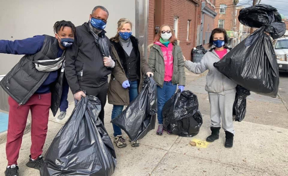 Organizations across Newburgh went out into the community on Monday, January 18 to celebrate Martin Luther King Jr. Day with everything from cleanups to distributing masks.
