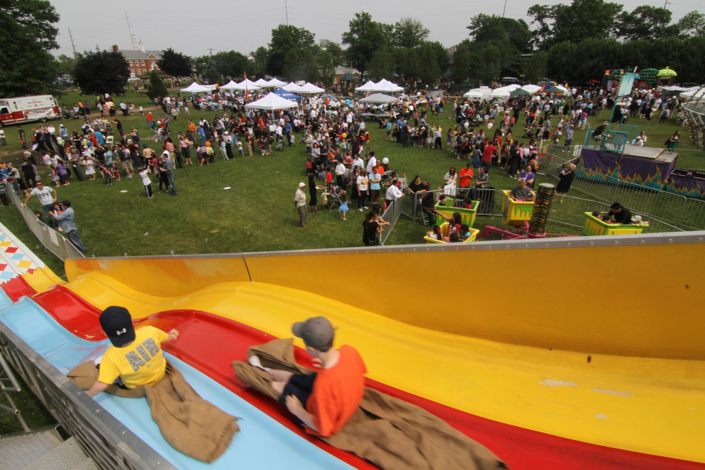 Hundreds attended the Kulanu Fair in Cedarhurst on June 12, helping raise funds for the organization.