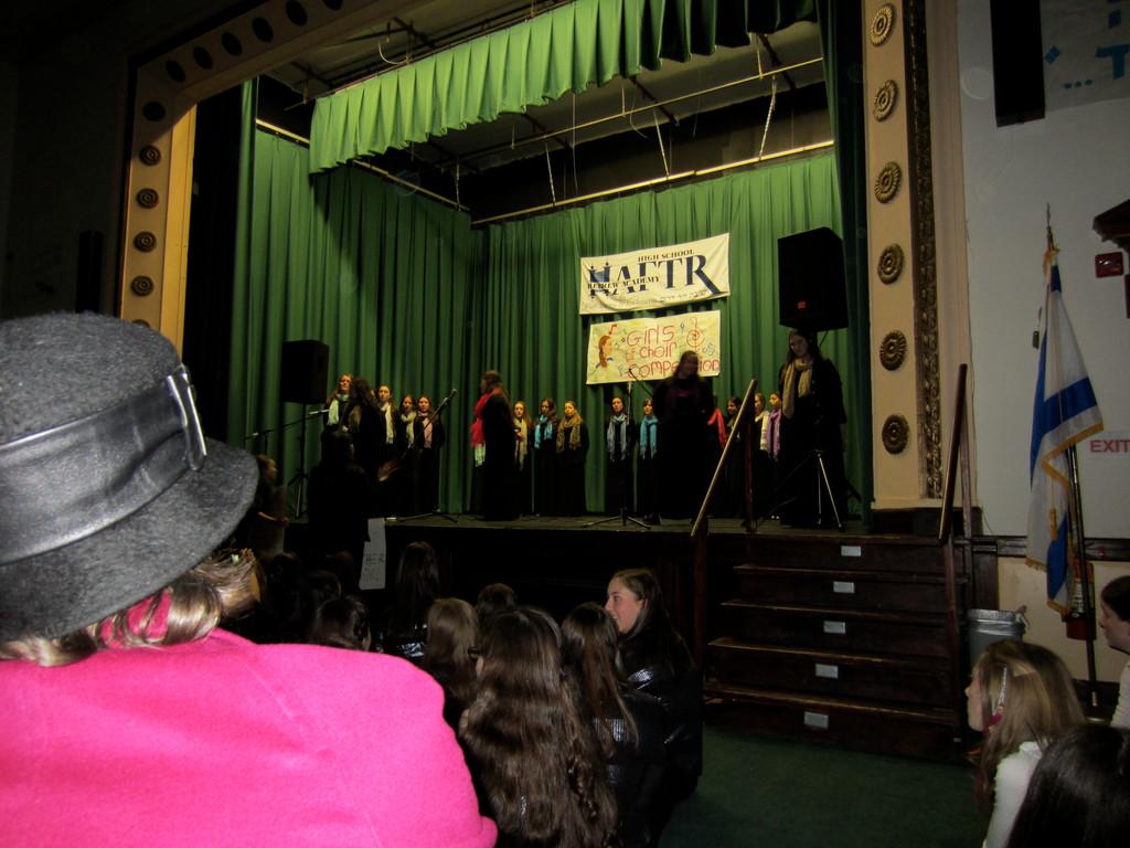 SKA choir performs at HAFTR's 5th Annual Girls' Choir Competition.