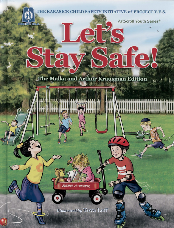 An Artscroll book on child safety.