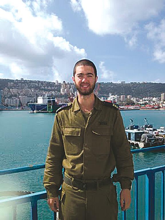 Ori Dadon, Israeli Naval Captain, visited New York recently.