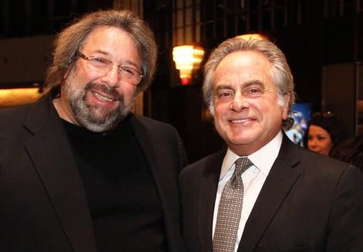 Honorary Kulanu trustees Martin Scharf (left) and Benjamin Brafman.