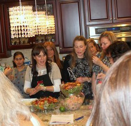 Naomi Nachman, The Aussie Gourmet, demonstrated several delicious dairy recipes.
