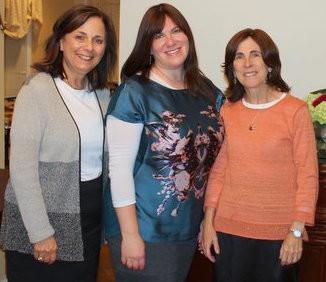 Alice Feltheimer, Rina Ganeles and Naomi Nadata