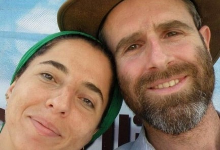 Dafna Meir and her husband, Nathan.