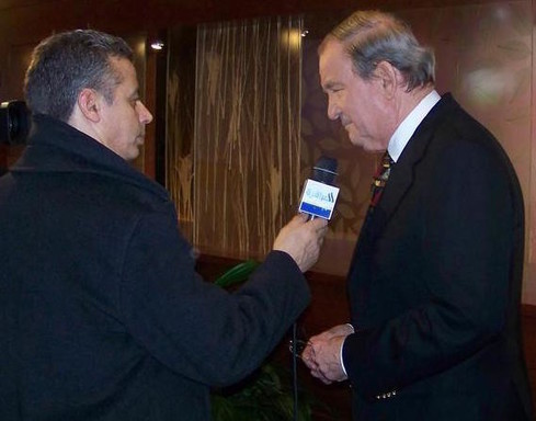 Pat Buchanan in Manchester, NH, in 2008.