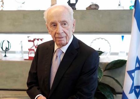 Former Israeli president Shimon Peres Tel Aviv, on Nov. 30, 2015.