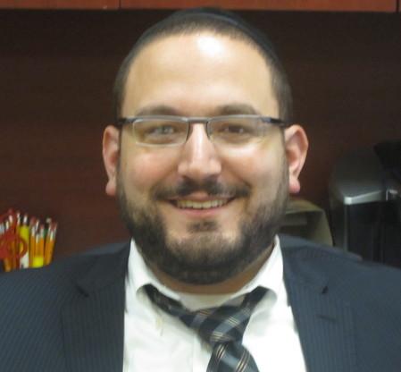 Rabbi Avraham Fridman, general studies principal of Yeshiva of South Shore.