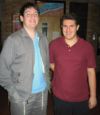 Gideon Levy and Ezra Dubov