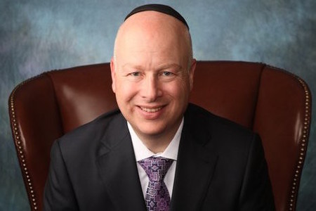 Jason Greenblatt, one of President-elect Donald Trump's Israel advisers and the incoming administration's newly appointed special representative for international negotiations.