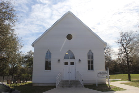 B'nai Abraham, the oldest synagogue in Texas, was trucked to Austin in 2015 from Brenham, 90 miles to the east, to get a second life in a city with a more vibrant Jewish population.