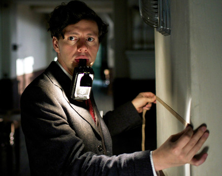 "Christian Friedel as Georg Elser in ""13 Minutes."""
