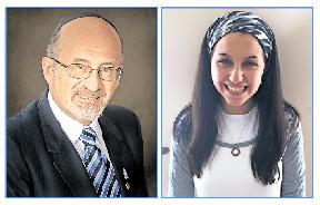 Rabbi Bulka and Rikki (Bulka) Ash