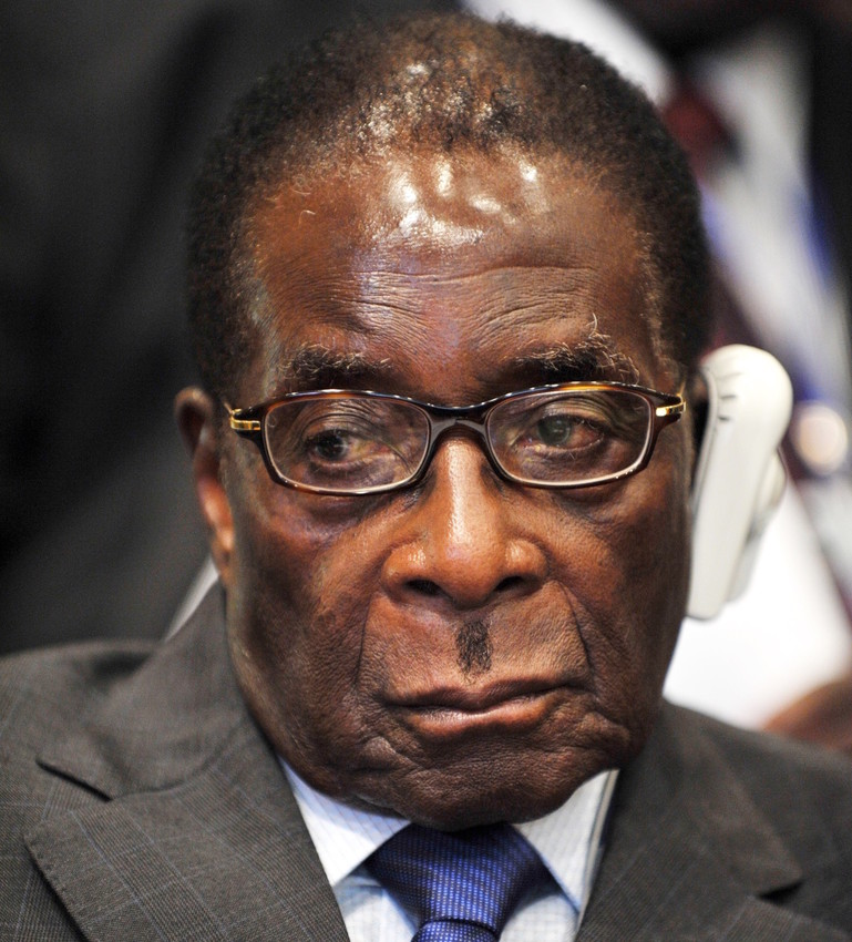 Robert Mugabe at the 12th African Union Summit, Feb. 2, 2009, in Addis Ababa, Ethiopia.