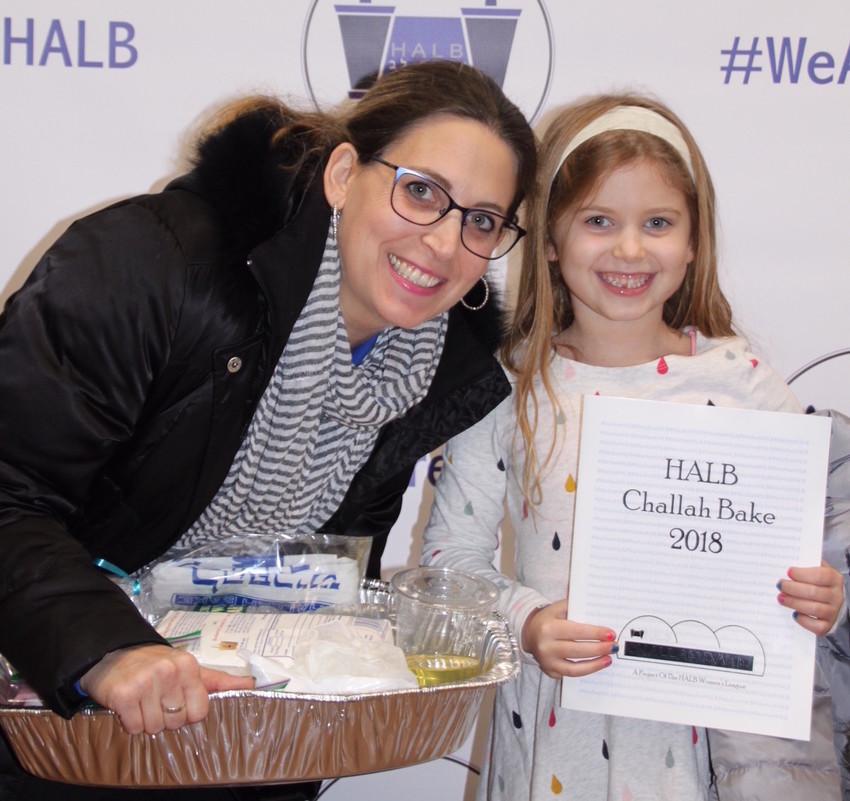 Lynn Grushko with first grader Hannah.