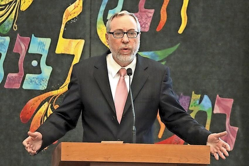 Rabbi Dr. Aaron Glatt.