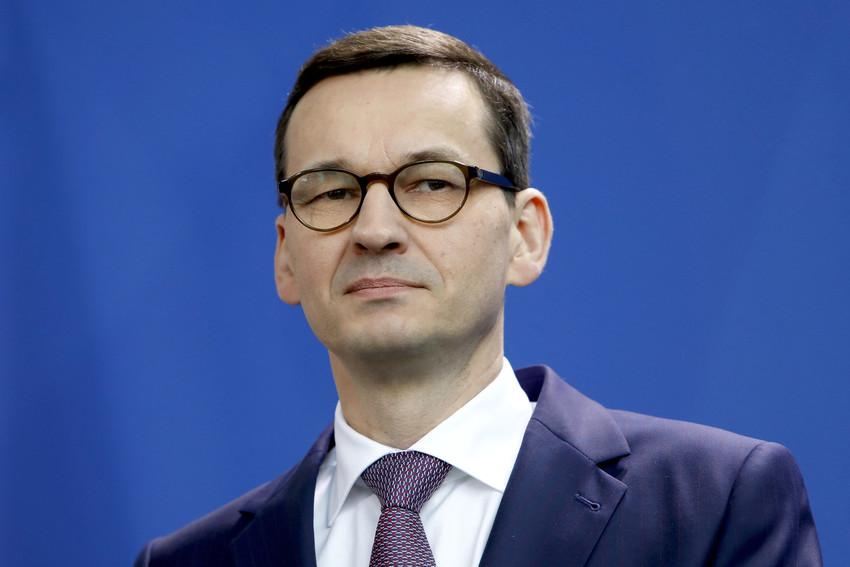 Polish Prime Minister Mateusz Morawiecki.