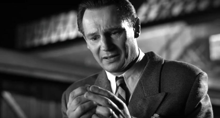"""Liam Neeson as Oskar Schindler in """"Schindler's List."""