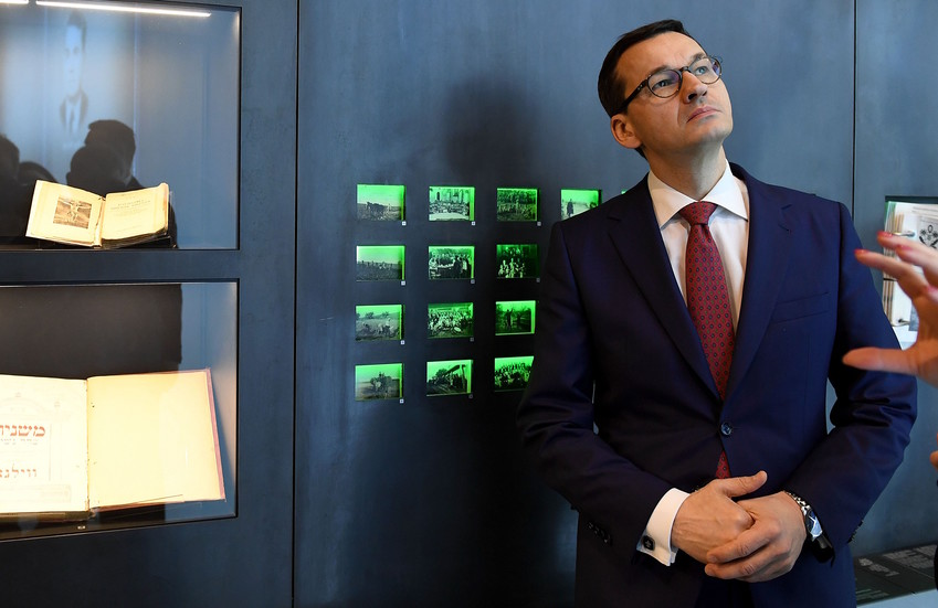 Polish Prime Minister Mateusz Morawiecki visits the Ulma Family Museum that documens the fate of the Polish Ulma family, killed in March 1944 by Nazi Germans for rescueing Jews during the Holocaust.